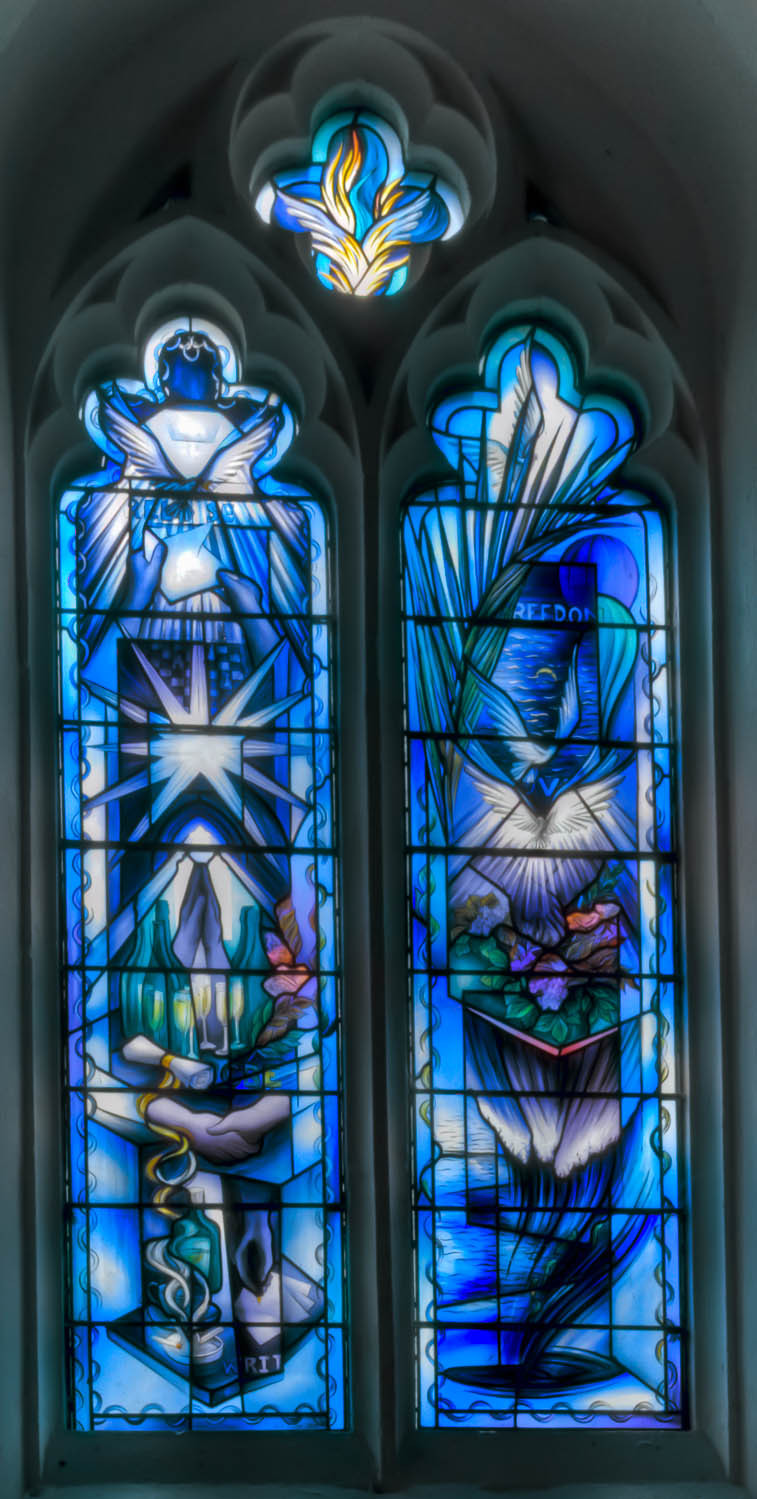 The Freedom Window Broxted Church