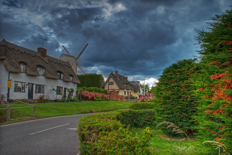 Storm Clouds over Finchingfield