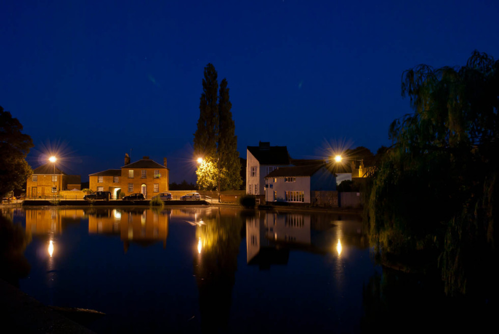 The Doctors Pond, Dunmow At Night