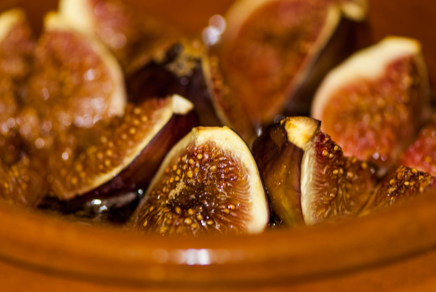 Figs coming out of the oven