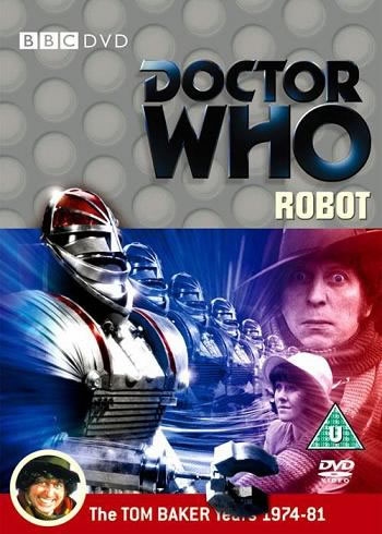 Cover from the DVD of Doctor Who's Robot