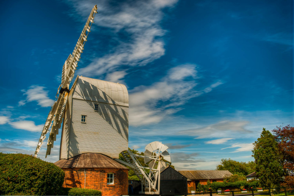 A Summer Afternoon at the Windmill
