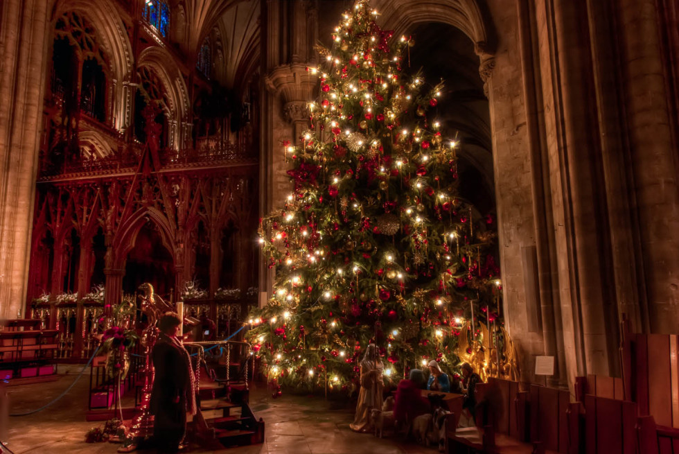 Christmas at Ely Cathedral