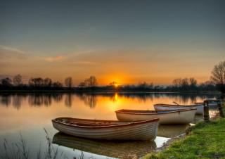 Lodge Lake Sunset