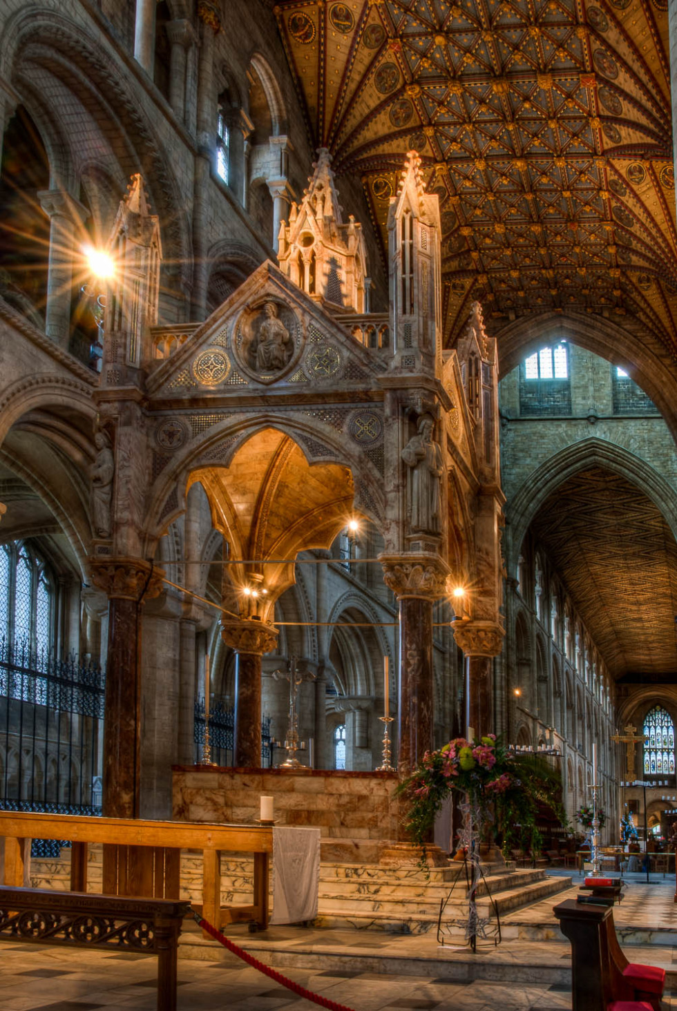 The Altar at Peterborough Cathedral