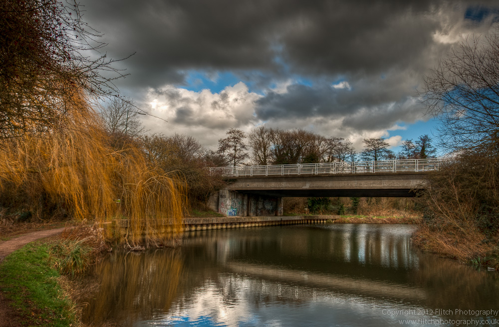 The River Stort at Burnt Mill, Harlow