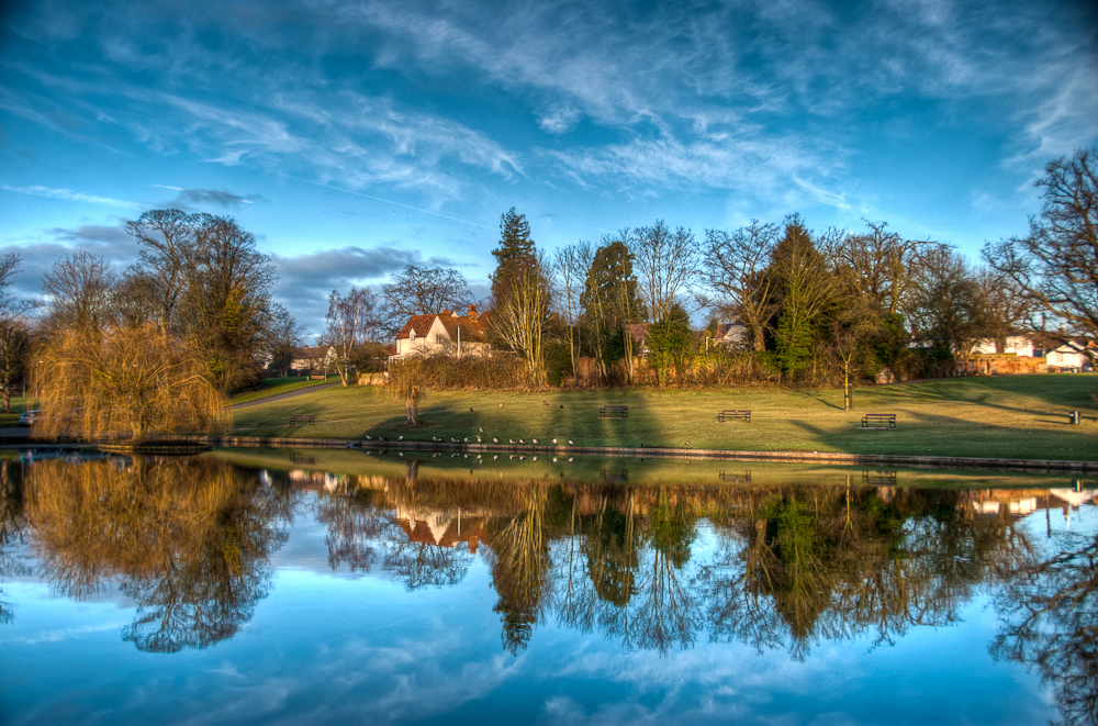 Reflections of Doctors Pond, Great Dunmow