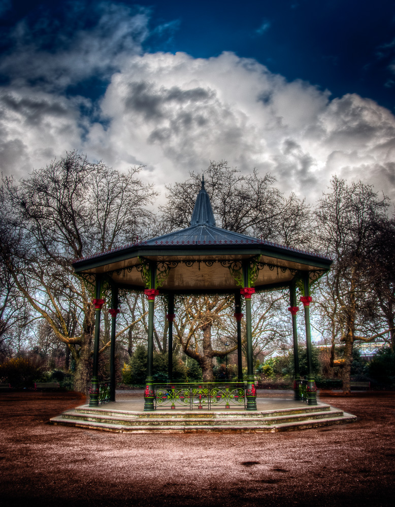 Battersea Bandstand, London