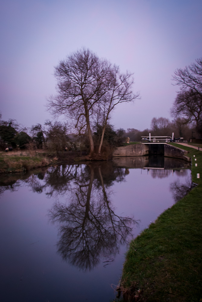 Parndon Lock on the River Stort