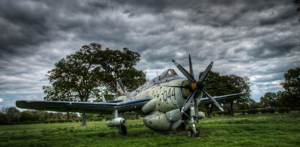 Fairey Gannet A.E.W. 3 at the Gatwick Aviation Museum