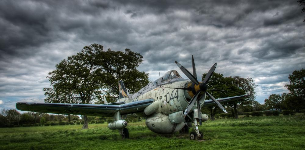 Fairey Gannet A.E.W. 3 at the Gatwick Aviation Museum