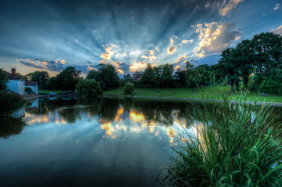Doctors Pond Sun Stream
