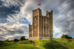 Just over the Suffolk border is Orford - a delightful seaside village with this impressive castle.