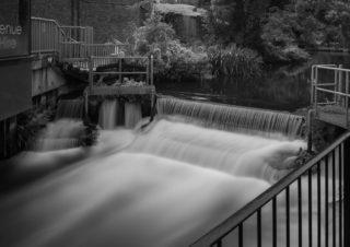 The River Lee in Hertford