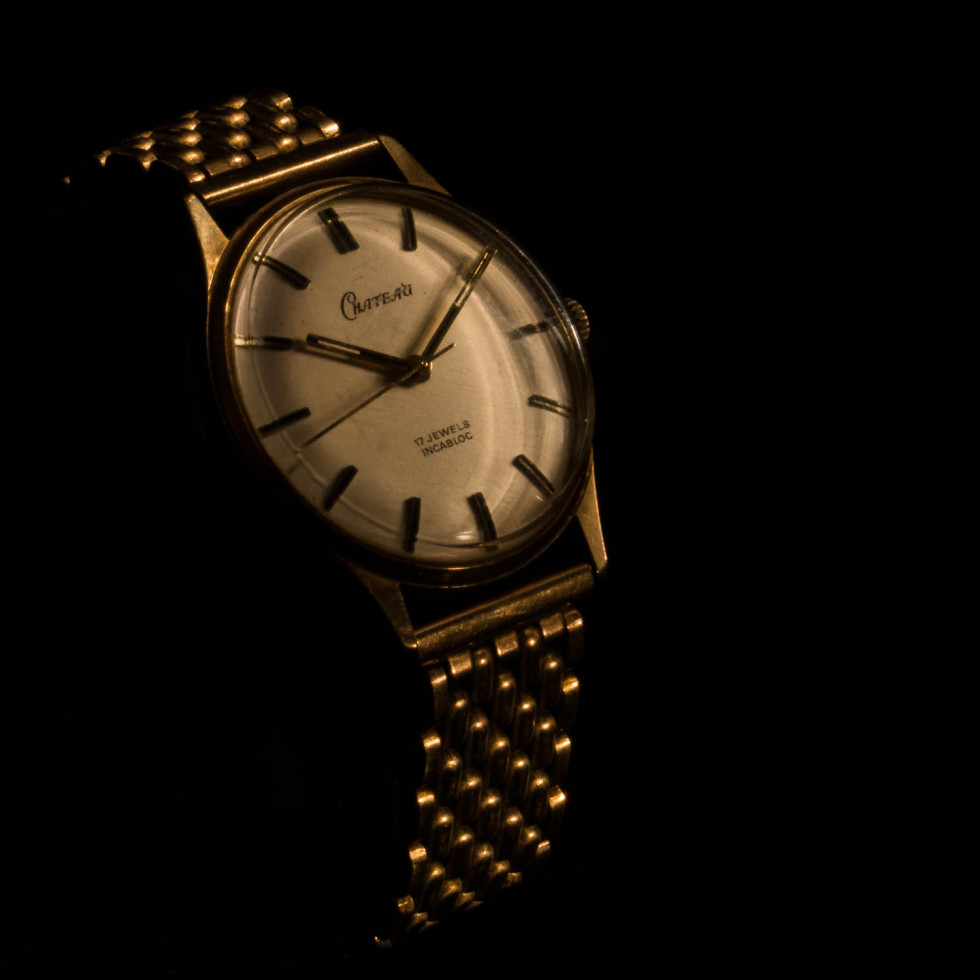 028/365v2 My Gold Watch