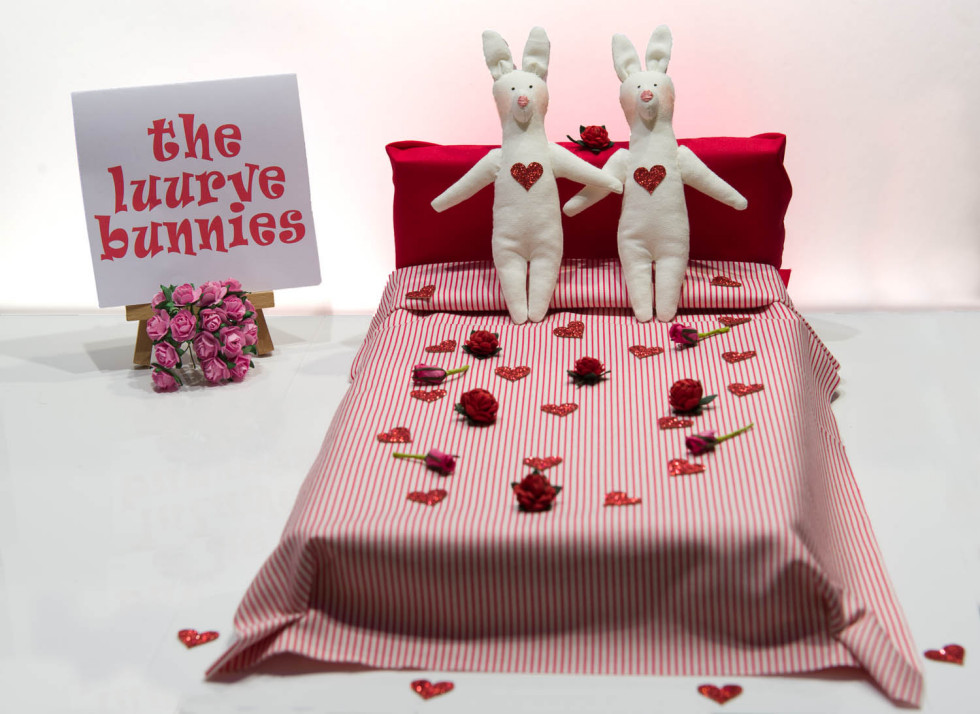 The Luurve Bunnies In Bed