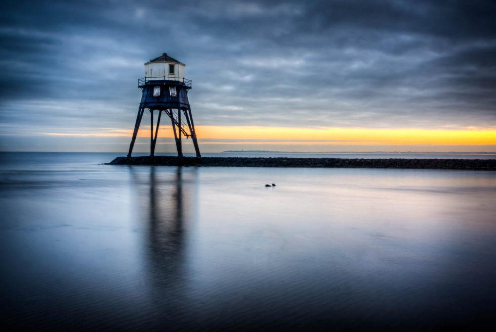 Dovercourt Lighthouse at Sunset