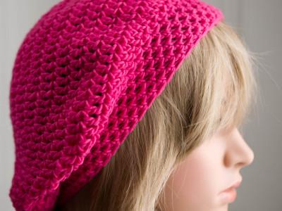 085/365v2 Pink Knitted Beret
