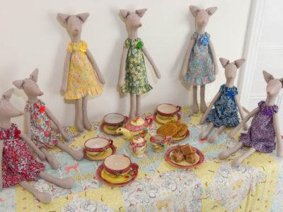 131/365v2 – Foxes Tea Party