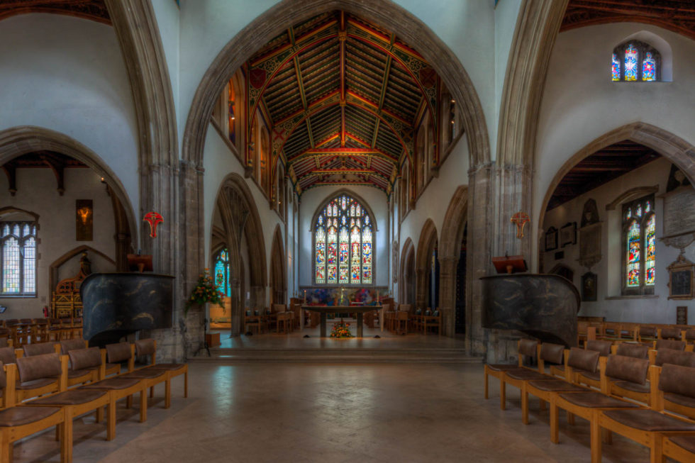 181/365v2 Aisle and Altar – Chelmsford Cathedral