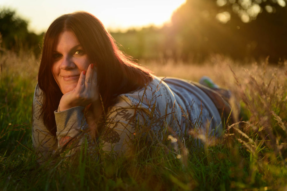 182/365v2 Sunset Portraits – Jo