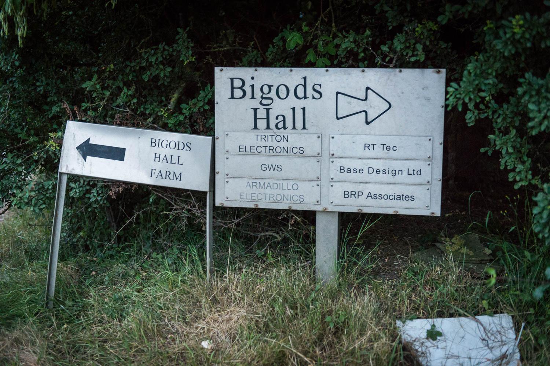 Bigods Hall, this way