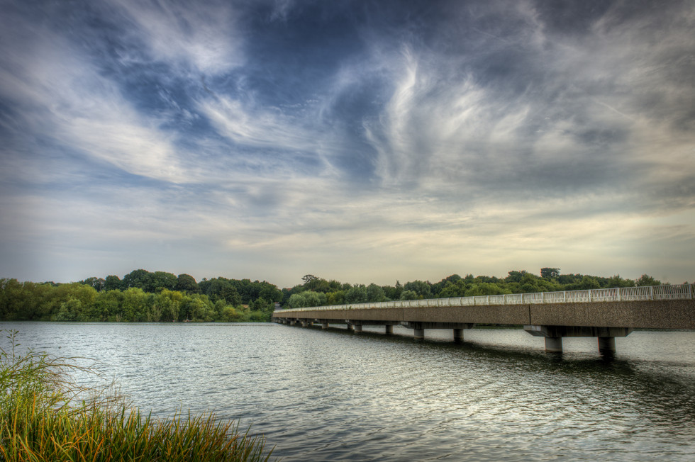 A Bridge over Alton Water