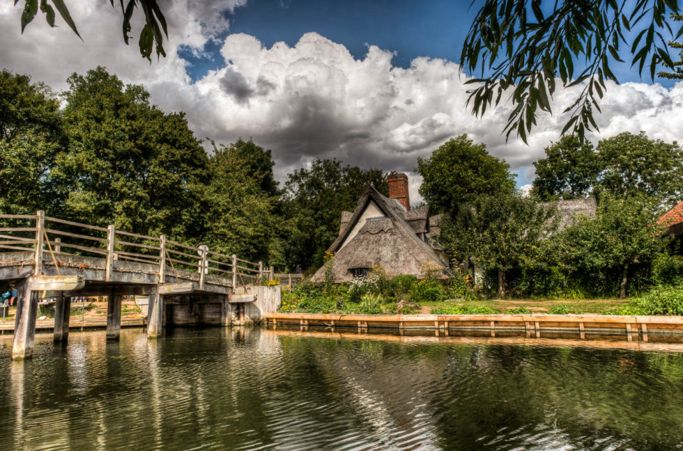 216/365v2 The River Stour at Flatford Mill