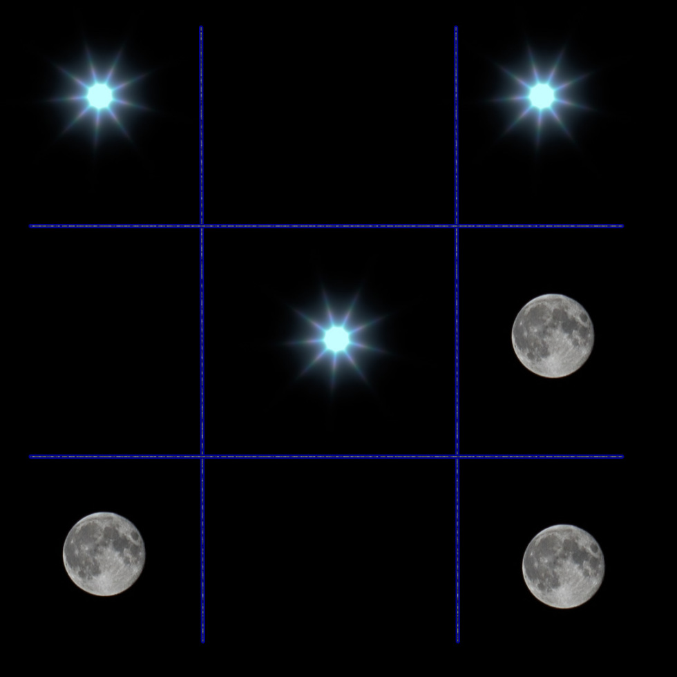 252/365v2 Celestial Noughts and Crosses