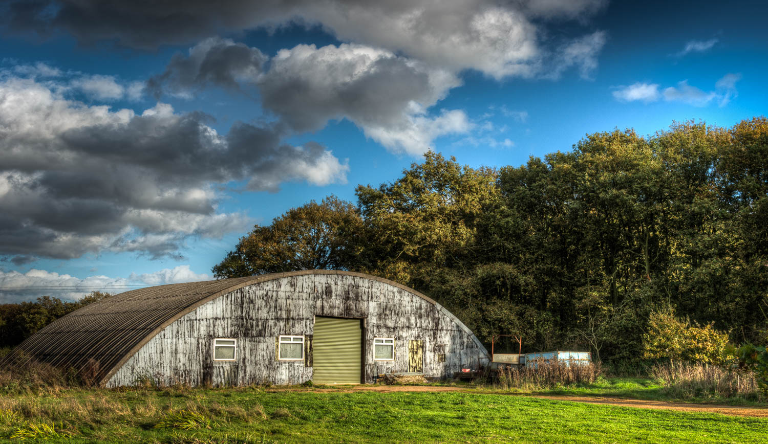 Nissen Hut at Rowney Wood