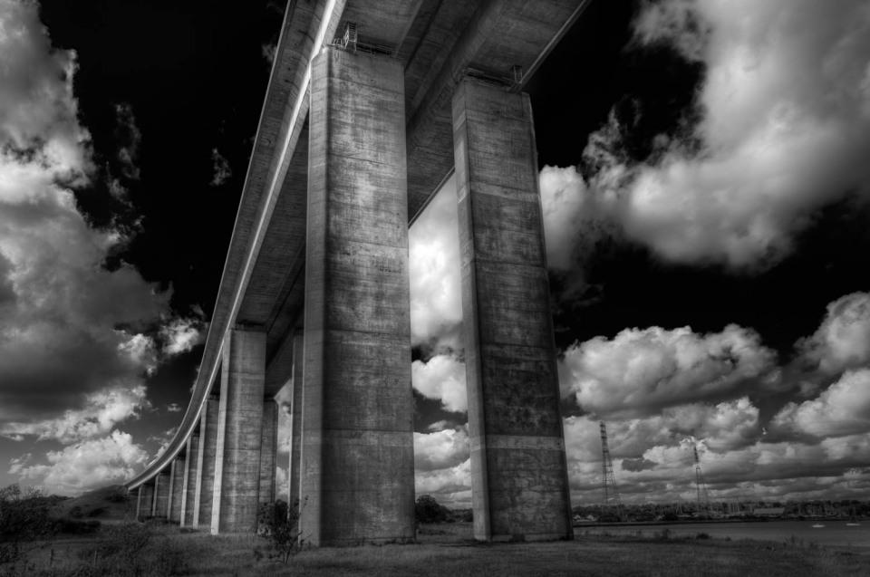 Underneath The Orwell Bridge