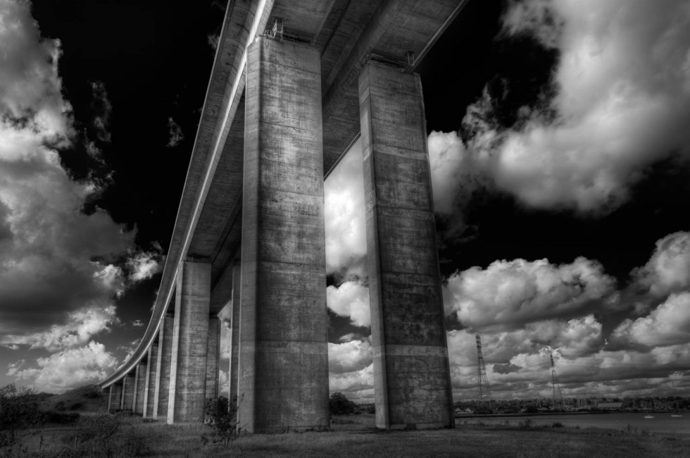 Underneath The Orwell Bridge