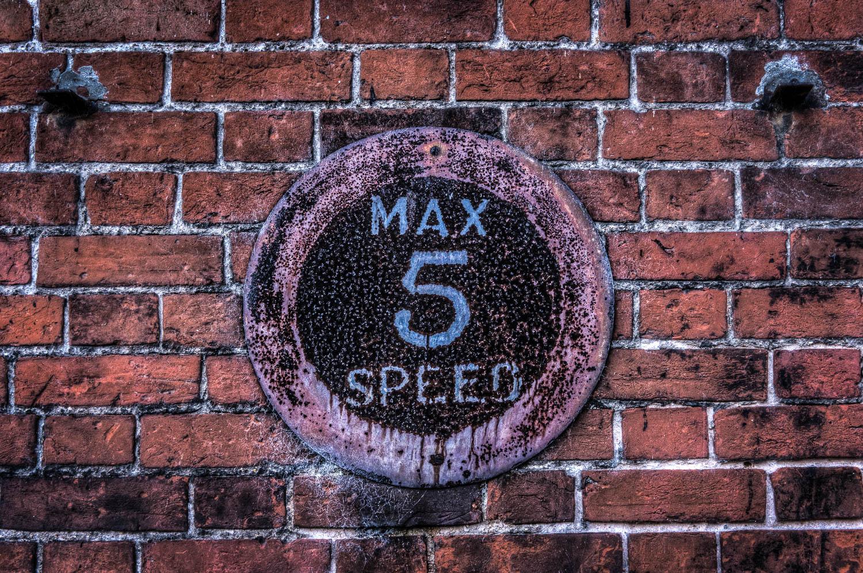 Max Speed 5mph