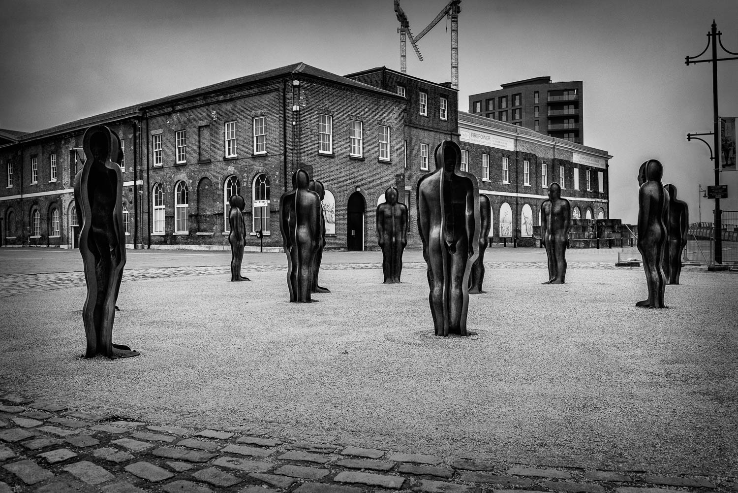 Standing Waiting - Assembly by Peter Burke, Woolwich Arsenal