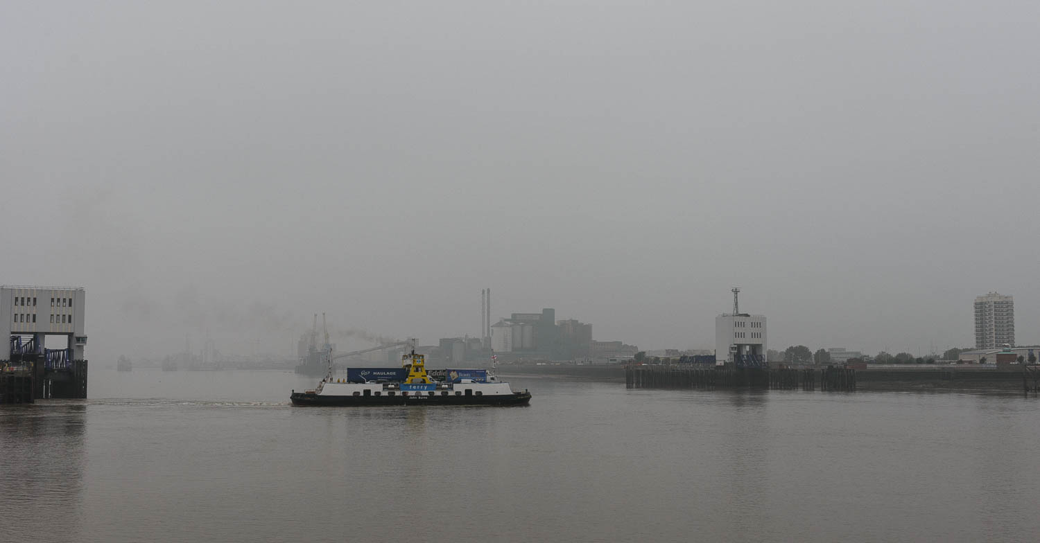 The Woolwich Ferry 2015