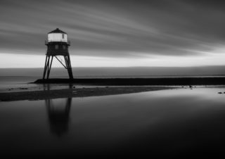 Dovercourt Lighthouse B&W