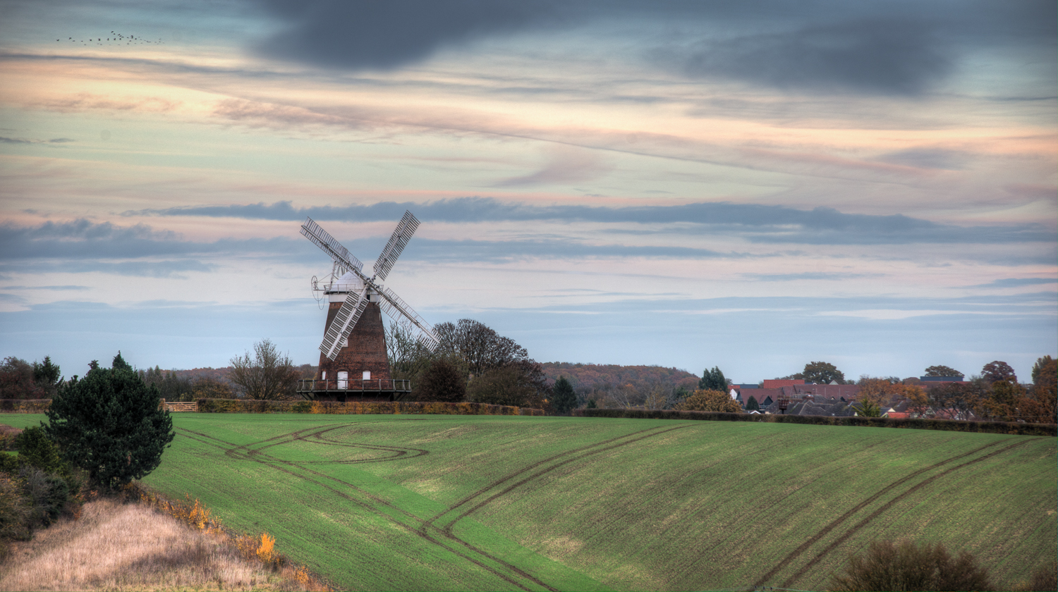 Autumn at John Webbs Windmill, Thaxted