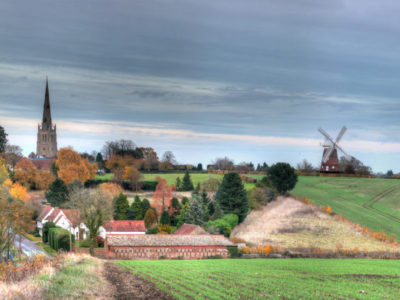 80/365v3 A View of the Town of Thaxted
