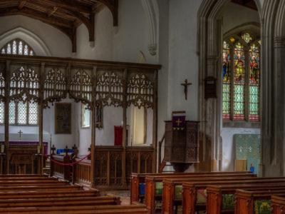 101/365v3 Clavering Church