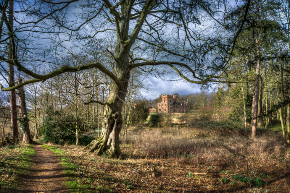 181/365v3 – Walking To Oxburgh Hall