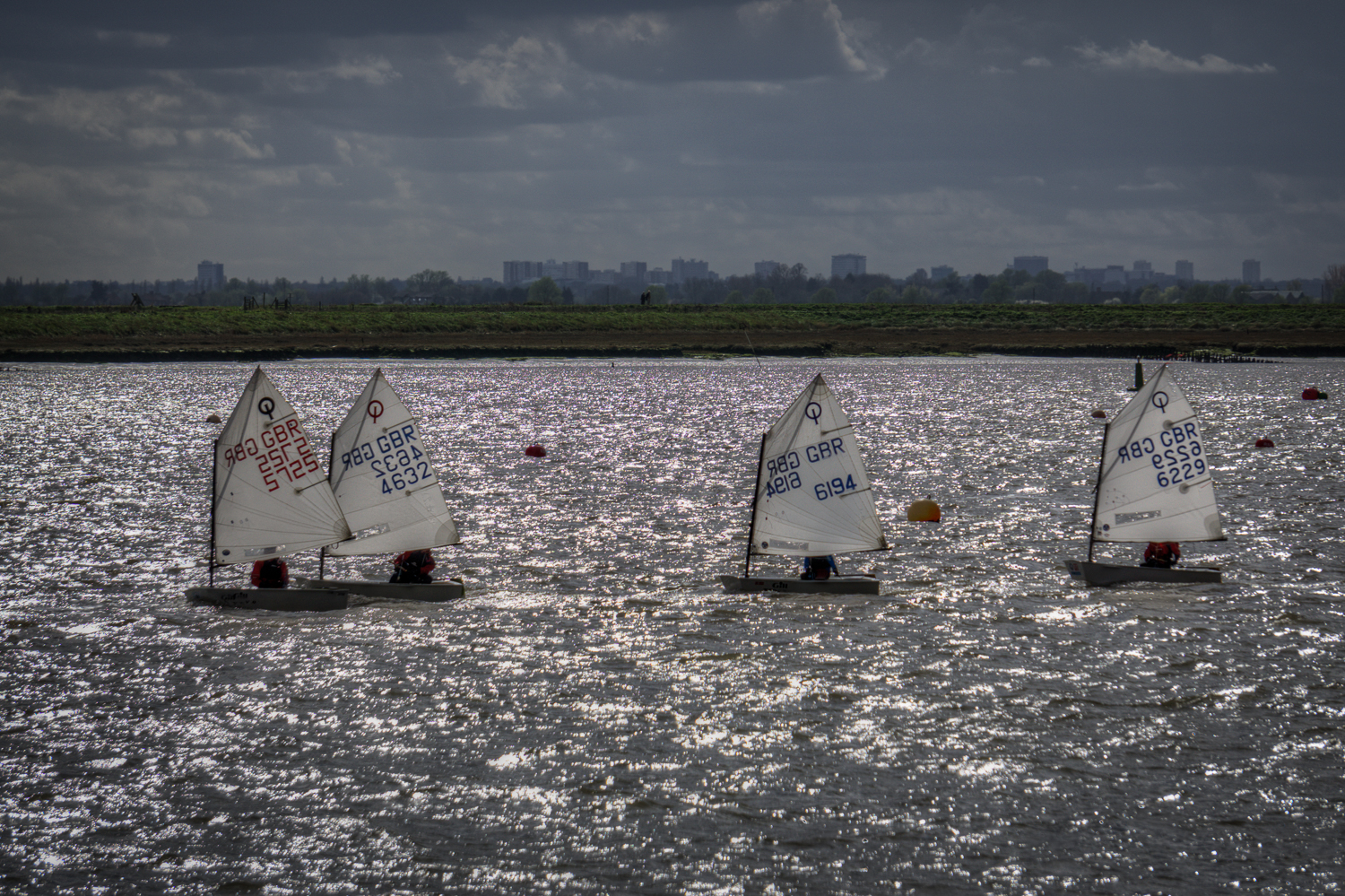 Burnham on Crouch - small yacht racing