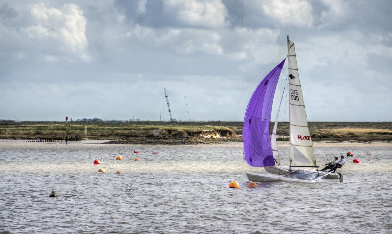 Burnham on Crouch - big yacht racing