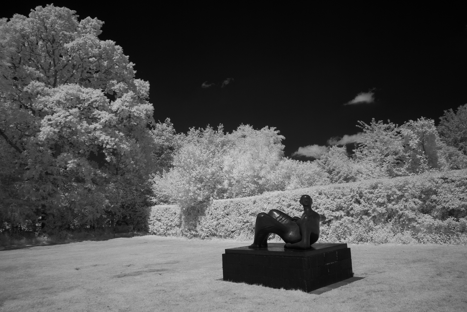 Reclining Figure Angels, Infra-Red