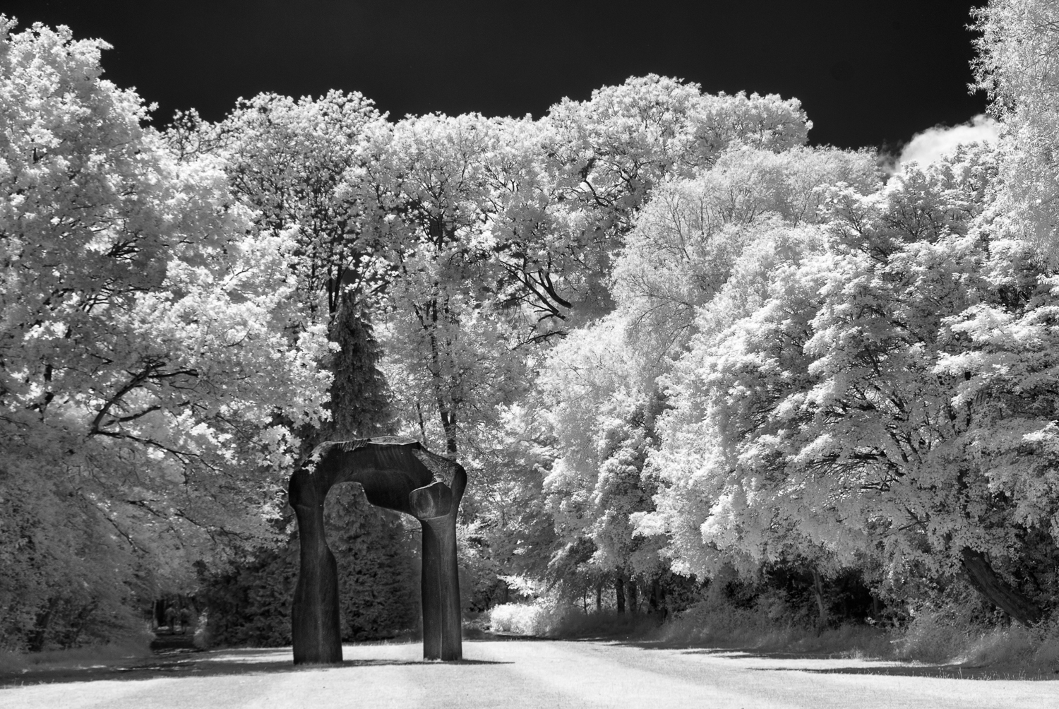 The Arch, Infra-Red