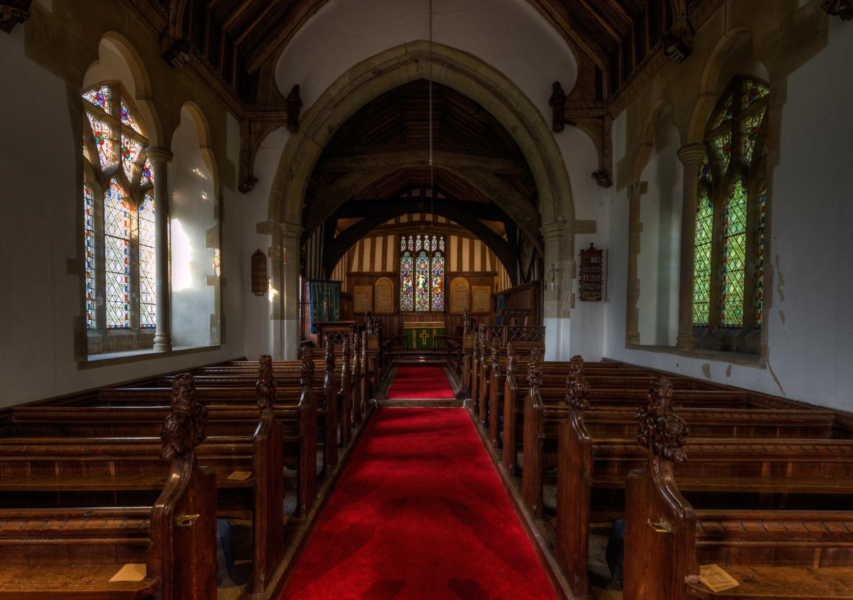 All Saints Church, Crowfield, Suffolk