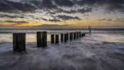 Sunrise on Gorleston Beach, Norfolk
