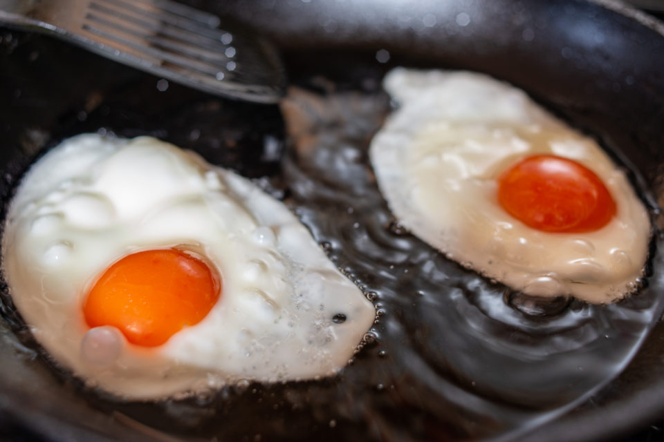 Frying Fried Eggs