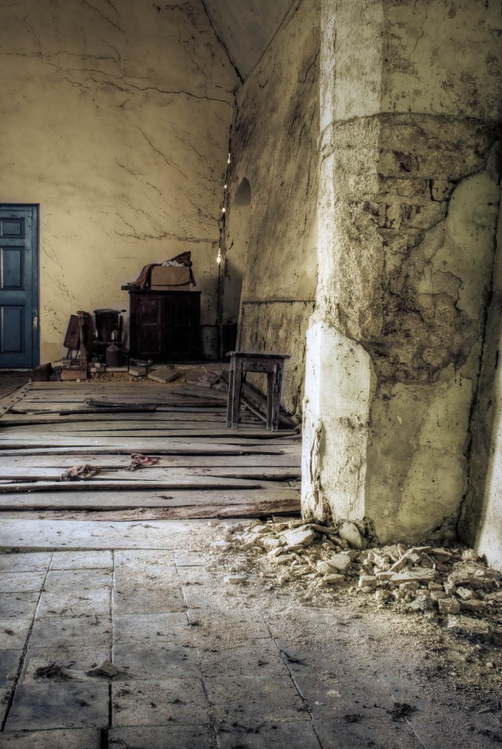 Berners Roding Church Crumbling Away
