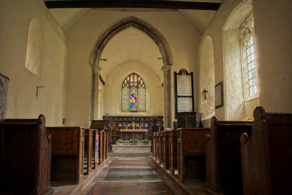 St Andrews Willingale down The Aisle