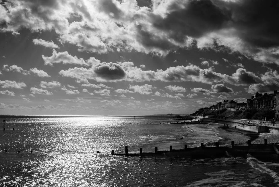 The Southwold Coastline B&W